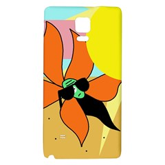 Sunflower on sunbathing Galaxy Note 4 Back Case