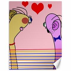 Love Canvas 12  x 16