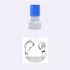 Love Rubber Round Stamps (small)