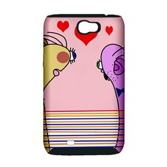 Love Samsung Galaxy Note 2 Hardshell Case (PC+Silicone)