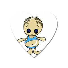 Cute boy Heart Magnet