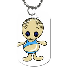 Cute boy Dog Tag (Two Sides)