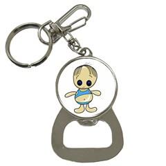 Cute boy Bottle Opener Key Chains