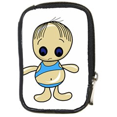 Cute boy Compact Camera Cases