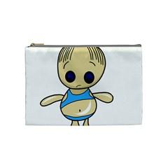 Cute boy Cosmetic Bag (Medium)