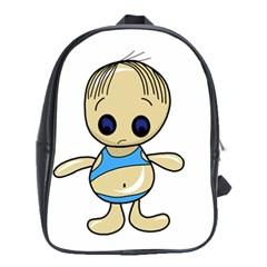 Cute boy School Bags (XL)