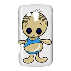 Cute boy Samsung Galaxy Duos I8262 Hardshell Case