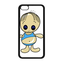 Cute boy Apple iPhone 5C Seamless Case (Black)
