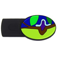 Caterpillar  USB Flash Drive Oval (1 GB)