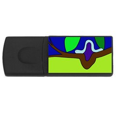 Caterpillar  USB Flash Drive Rectangular (4 GB)