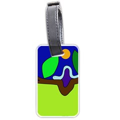 Caterpillar  Luggage Tags (one Side)
