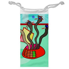 Dancing  snakes Jewelry Bags