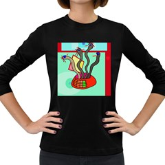 Dancing  snakes Women s Long Sleeve Dark T-Shirts
