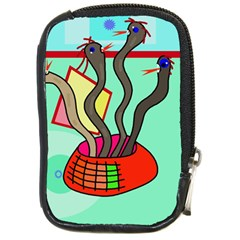 Dancing  snakes Compact Camera Cases