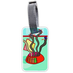 Dancing  snakes Luggage Tags (Two Sides)