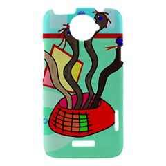 Dancing  snakes HTC One X Hardshell Case