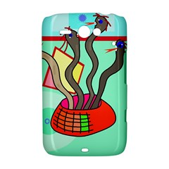 Dancing  snakes HTC ChaCha / HTC Status Hardshell Case