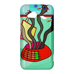 Dancing  snakes HTC Droid Incredible 4G LTE Hardshell Case