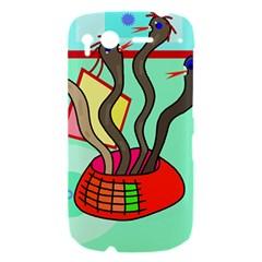 Dancing  snakes HTC Desire S Hardshell Case