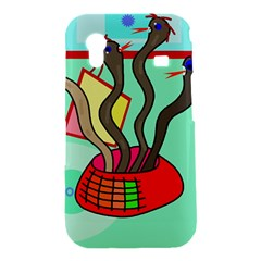 Dancing  snakes Samsung Galaxy Ace S5830 Hardshell Case