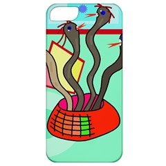 Dancing  snakes Apple iPhone 5 Classic Hardshell Case