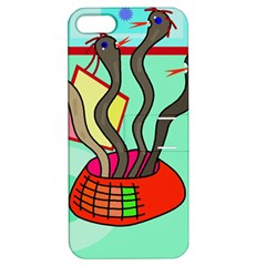 Dancing  snakes Apple iPhone 5 Hardshell Case with Stand