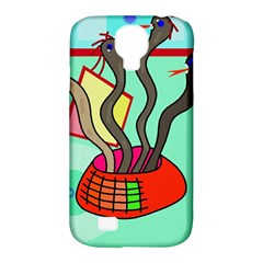 Dancing  snakes Samsung Galaxy S4 Classic Hardshell Case (PC+Silicone)
