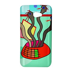 Dancing  snakes HTC Butterfly S/HTC 9060 Hardshell Case