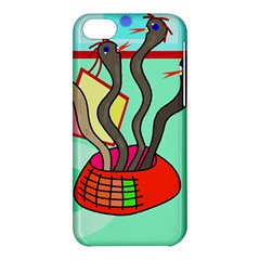 Dancing  snakes Apple iPhone 5C Hardshell Case