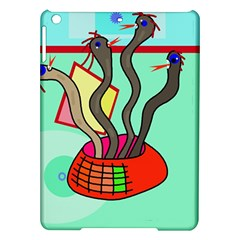 Dancing  snakes iPad Air Hardshell Cases