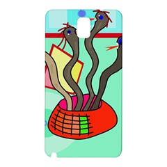 Dancing  snakes Samsung Galaxy Note 3 N9005 Hardshell Back Case