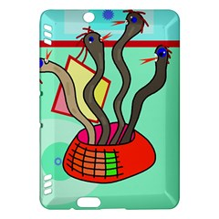 Dancing  snakes Kindle Fire HDX Hardshell Case