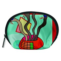 Dancing  snakes Accessory Pouches (Medium)
