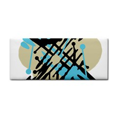 Abstract decor - Blue Hand Towel