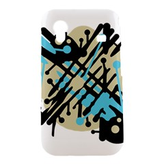 Abstract decor - Blue Samsung Galaxy Ace S5830 Hardshell Case