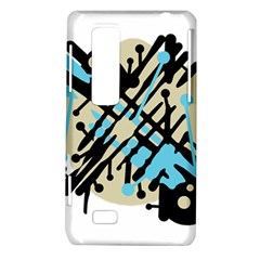 Abstract decor - Blue LG Optimus Thrill 4G P925