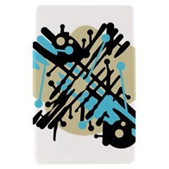 Abstract decor - Blue Kindle Fire (1st Gen) Hardshell Case