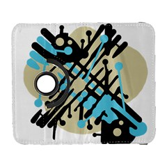 Abstract decor - Blue Samsung Galaxy S  III Flip 360 Case