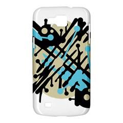 Abstract decor - Blue Samsung Galaxy Premier I9260 Hardshell Case
