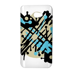 Abstract decor - Blue HTC Butterfly S/HTC 9060 Hardshell Case