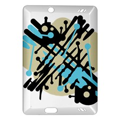 Abstract decor - Blue Amazon Kindle Fire HD (2013) Hardshell Case