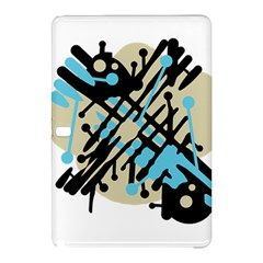 Abstract decor - Blue Samsung Galaxy Tab Pro 10.1 Hardshell Case