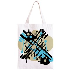 Abstract decor - Blue Classic Light Tote Bag