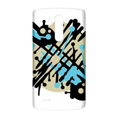 Abstract decor - Blue LG G3 Back Case