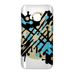 Abstract decor - Blue HTC One M9 Hardshell Case