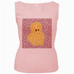 Cute thing Women s Pink Tank Top