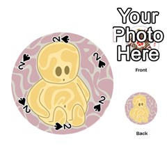 Cute thing Playing Cards 54 (Round)