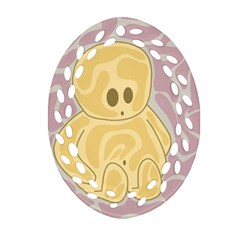 Cute thing Ornament (Oval Filigree)