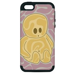 Cute thing Apple iPhone 5 Hardshell Case (PC+Silicone)