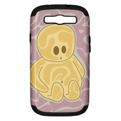 Cute thing Samsung Galaxy S III Hardshell Case (PC+Silicone)